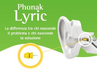 Lyric - Apparecchio acustico invisibile